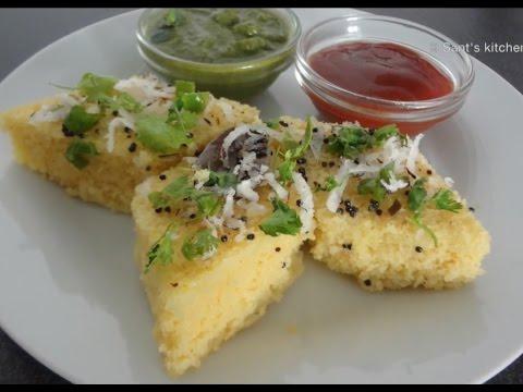 Soft, Spongy Instant Khaman Dhokla without eno (fruit salt)