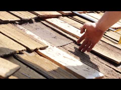 How To: Replace a cedar shake shingle