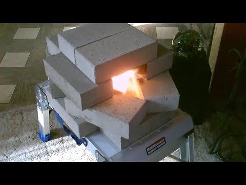 Homemade Brick Air Heater (an update/ w/highest temps)... Easy DIY