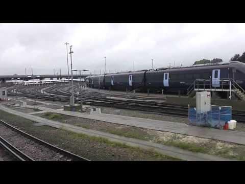 Hitachi Train Depot at Ashford 19 October 2013