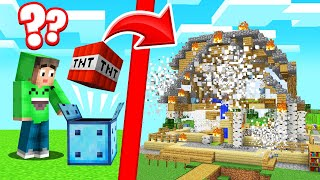 I Got TROLLED With CHANCE BLOCKS In MINECRAFT!