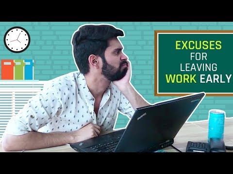 MensXP: Excuses We Make To Leave Work Early