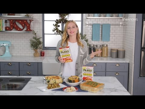 1 Item, 5 Ways: Panko Bread Crumbs