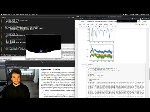 George Hotz   Programming   Fun with MuZero and MCTS on a lovely Sunday   CartPole   DeepMind AI