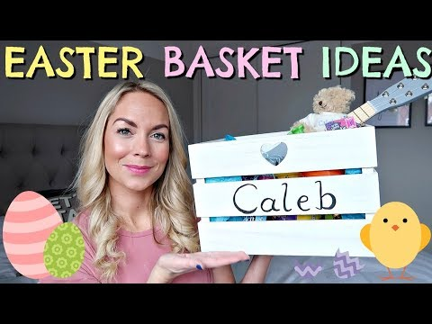 WHAT'S IN THE KIDS EASTER BASKETS  |  EASTER BASKET IDEAS 2018