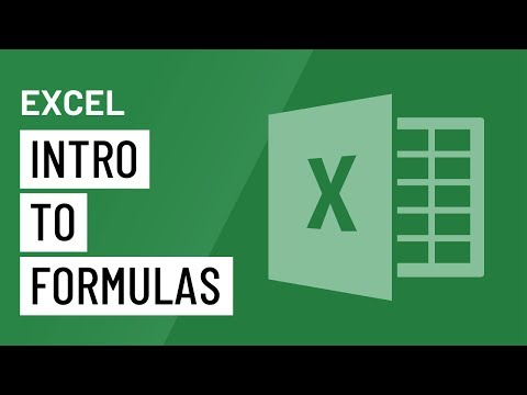 Excel 2016: Intro to Formulas