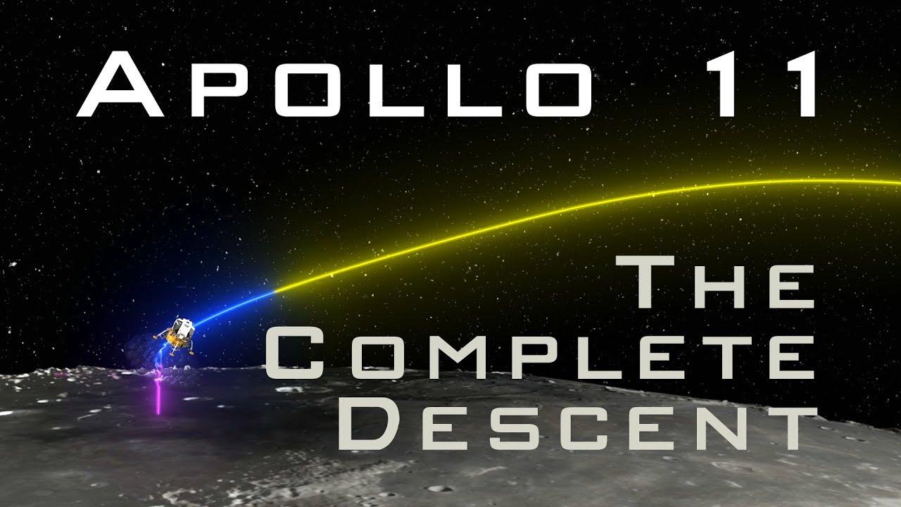Apollo 11:  The Complete Descent