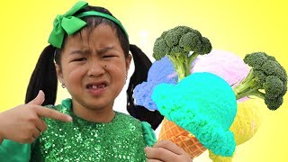 Jannie and Friends Pretend Play with Funny Magic Food Prank For Kids Video
