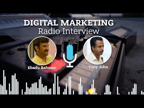 Digital Marketing Radio Interview