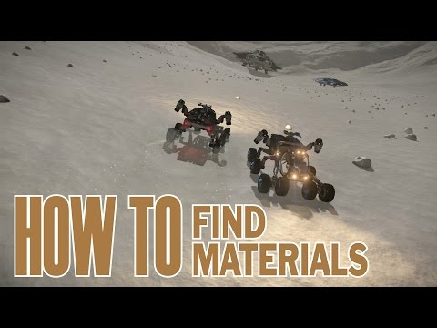 Elite: Dangerous. How to find crafting materials