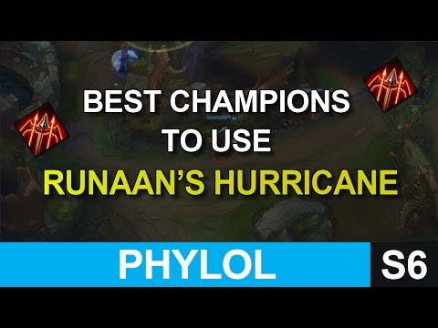 Best champions to use Runaan's Hurricane ( When & Who to buy it) - League of Legends