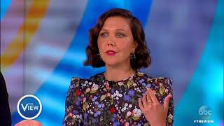 James Franco and Maggie Gyllenhaal Talk Reality Of Porn and Sex Work In 'The Deuce' | The View