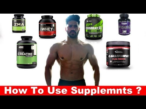 How to use Supplements ? Best Supplement For Indian Bodybuilding ?