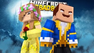 Minecraft BIG BAD BABY - LITTLE KELLY IS BEAUTY and THE NEIGHBOUR IS THE BEAST