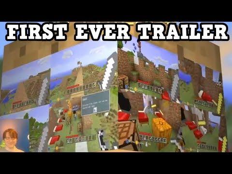 THE OLDEST Minecraft Xbox 360 Trailer