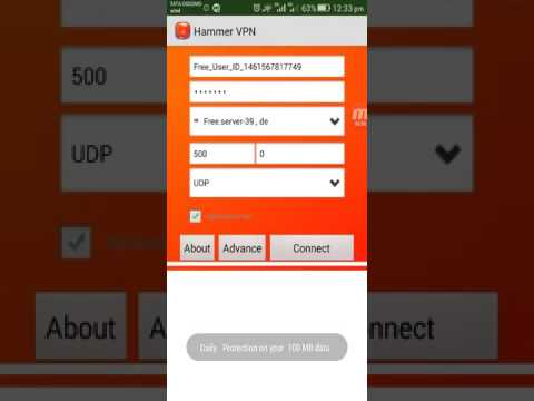 Free Airtel 3G Unlimited Internet with Hammer VPN New trick
