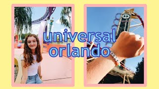 i went to universal because ariana grande postponed her concert