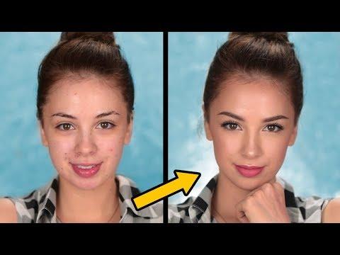 Back To School Makeup Tutorial | GRWM Simple , Everyday Makeup Look