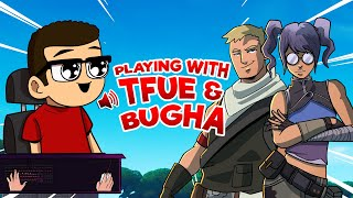 Nick Eh 30's FIRST TIME playing with Tfue & Bugha!