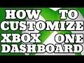 Xbox One : How To Set Custom Dashboard Background