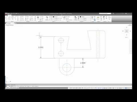 AutoCAD 2015 Basic Dimensioning and Text