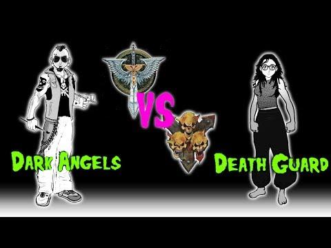 Errant Battles EP 11: Dark Angels vs Death Guard