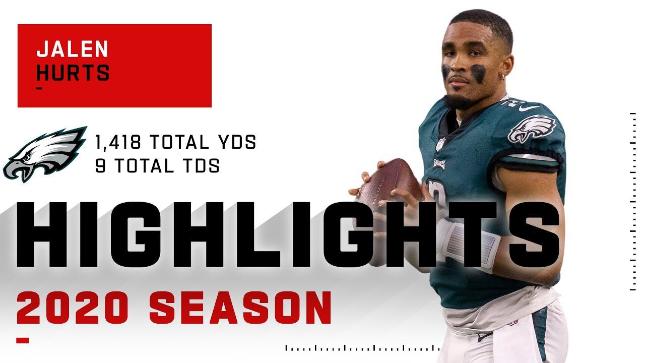 Jalen Hurts Full Rookie Season Highlights | NFL 2020