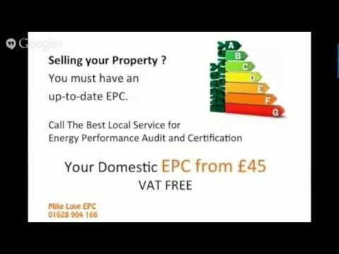 Cheaper Energy Performance Certificate EPC | Call 01628 904166 | S Bucks & E Berks