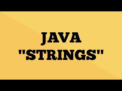 Java String - Explained   String Tutorial in Java   Java9s.com