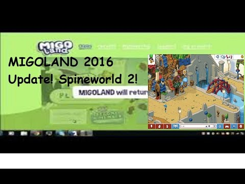 Spineworld 2. Works 2016. Migoland Update 2016. UPDATE 2. (OUTDATED)