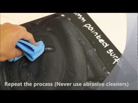Cleaning your chalkboard
