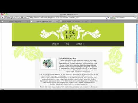 Webiva Rails CMS introductory tutorial 2/3