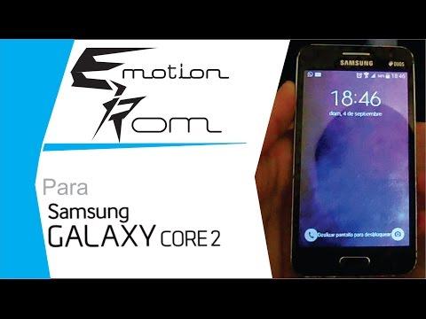 Emotion ROM para el Galaxy Core 2 | Review e instalación