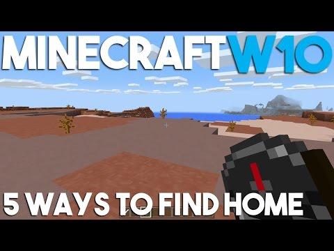 5 Ways to Find Home in Minecraft Windows 10 Edition!