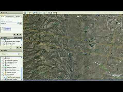 Google Earth access to SPOT Imagery