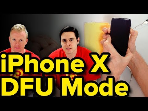 DFU Mode On iPhone X: How To Enter It & Restore! (Works For iPhone 8 / 8 Plus Too!)