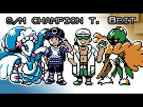 Pokemon Sun and Moon - Battle! Champion Title Defense [8bit]
