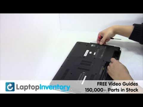 SONY VAIO DVD Replacement DVD-RW Disassembly Take Apart E15 SVE15 SV-E15