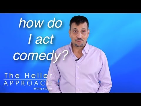 FREE ACTING LESSON: Acting Comedy