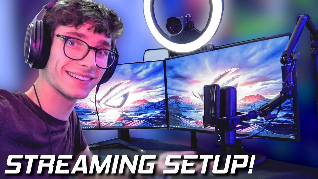 The ULTIMATE RTX 3080 Streaming Setup! How To Stream on PC! (Twitch & OBS Setup Tutorial) #AD