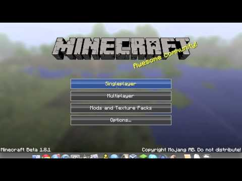 TUT: How to install minecraft [1.8.1] texture pack on Mac OS Lion