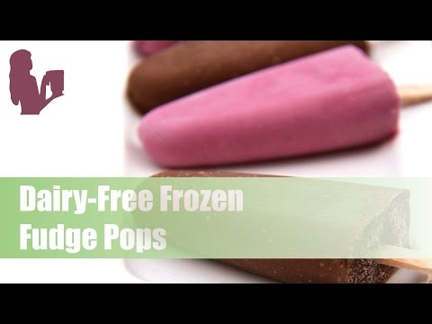 Dairy-Free Frozen Fudge Pops with Special Guest Peggy K!