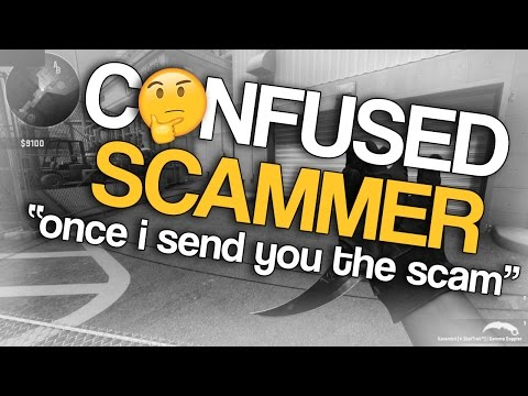 TROLLING A CONFUSED CS:GO SCAMMER
