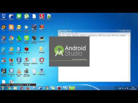 How To Setup Android Studio Completely Offline With Offline Gradle