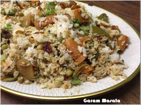 Vegetable Dum Biryani Kerala Style