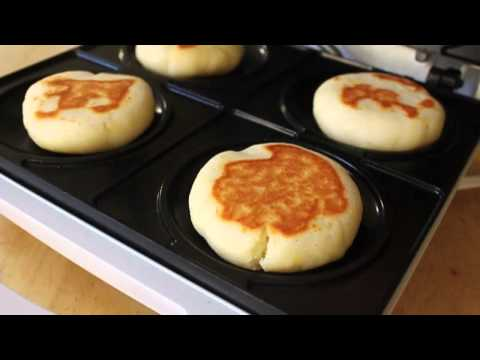 Cream Cheese Arepas - Arepas Maker Test - Breakfast Arepas Recipe