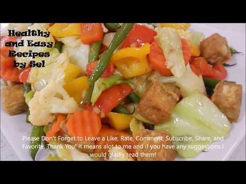 Oriental Vegetarian Stir Fry Recipe