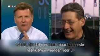 Dutch coach VS American interviewers @ Sochi 2014...PRICELESS! (Dutch subs)