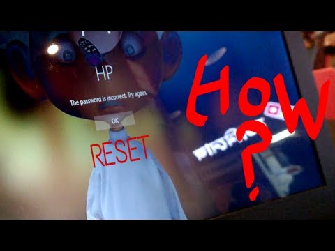 Reset your PC if you forgot password [WITHOUT any CD]