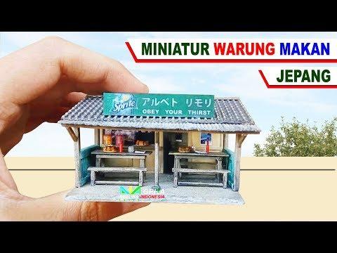 Cantik Sekali Miniatur Warung Makan Kampung [ Diecast Diorama Photography ]